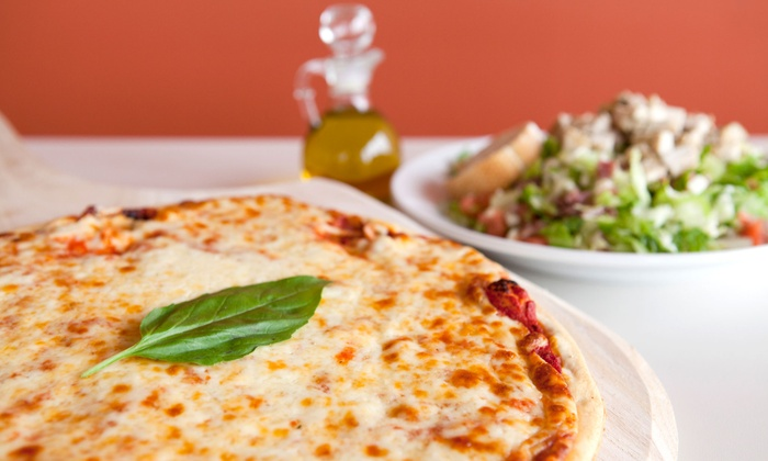 Pacific Coast Pizza - Wichita: LargePizza and Salad or $7.75 for $15 Worth of Pizzeria Eats at Pacific Coast Pizza