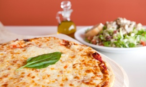 Pacific Coast Pizza: LargePizza and Salad or $7.75 for $15 Worth of Pizzeria Eats at Pacific Coast Pizza