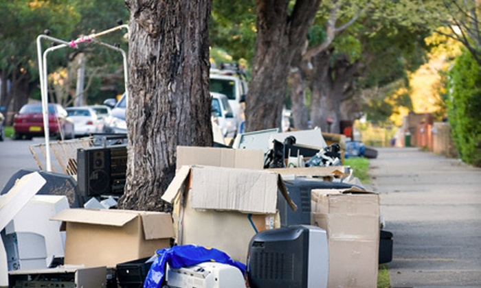 Green Clean & Demo Co. - Omaha: 4 or 8 Cubic Yards of Junk Removal from Green Clean & Demo Co. (Up to 56% Off)