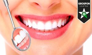 Clínica Dental Paseo de la Habana 77: 1, 2, 3, 4, 5 o 6 implantes dentales de titanio con corona de porcelana y limpieza desde 489 € en el P.º de la Habana