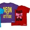 Kidteez Toddler Girls' Humor T-Shirts