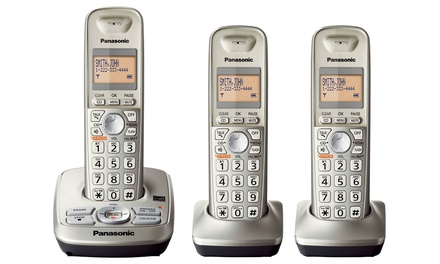 Panasonic 3-Handset Phone System (Manufacturer Refurbished)