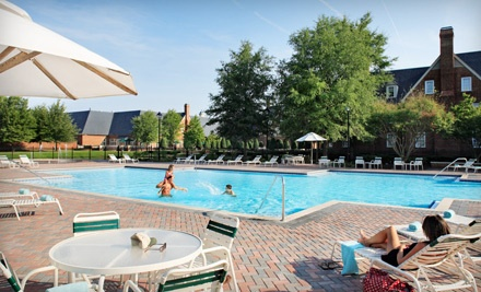3-Month Pool-and-Amenities Package for 2 Children, Aged 3-7 (a $120 value) - The Founders Inn and Spa in Virginia Beach