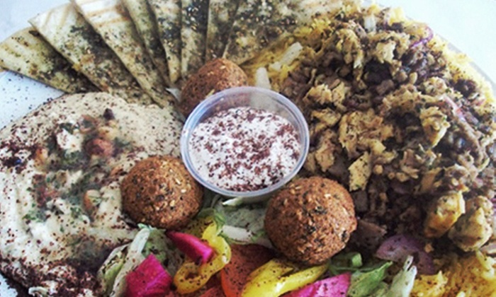 Heart of Jerusalem Cafe - Multiple Locations: $8 for $16 Worth of Middle Eastern Food, Drink, and Appetizers at Heart of Jerusalem Cafe