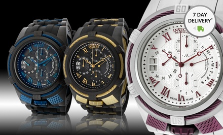 Invicta Swiss-Made Bolt Reserve Watch. Multiple Styles Available. Free Returns.