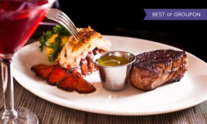 Land and Sea Market: Lobster and Steak Package or a 10-Pound Bag of Boneless Chicken Breasts at Land and Sea Market (Up to 43% Off)
