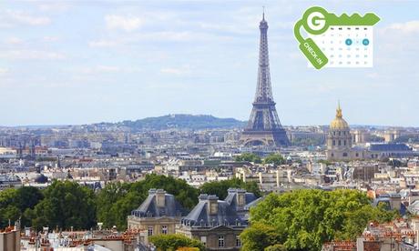 París: habitación doble Club para 2 con desayuno en Inter-Hôtel Parisiana