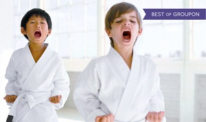 Kids Love Martial Arts: 10 or 20 Classes with Initiation and Uniform at Kids Love Martial Arts (Up to 90% Off)