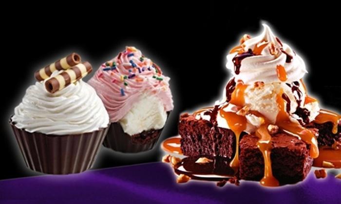 Cold Stone Creamery - Multiple Locations: Ice Cream, Frozen Yogurt, and Shakes, or Signature Cakes and Cupcakes at Cold Stone Creamery (Half Off)