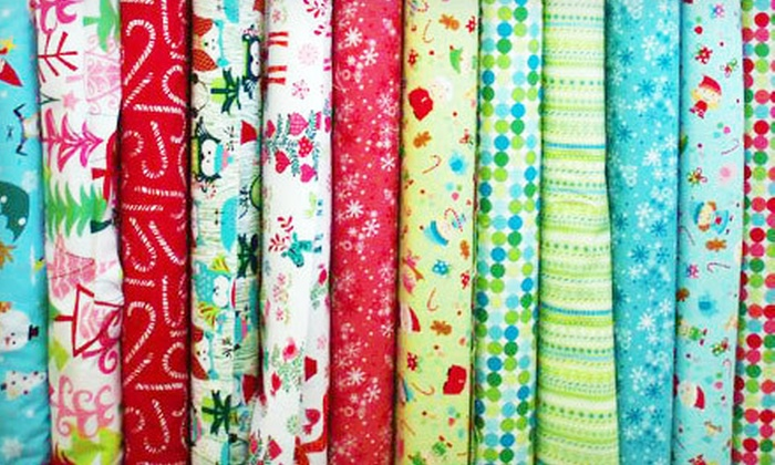 Continental Sewing Center - Jackson: Sewing Fabrics, Supplies, and Classes at Continental Sewing Center (Half Off)