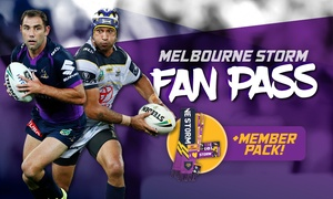 Melbourne Storm: Melbourne Storm Fan Pass - Membership Package + Game Access (Up to $120 Value)