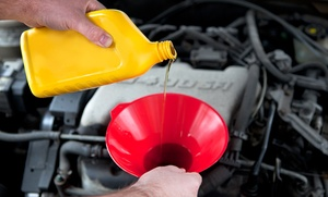 Jiffy Lube: $38 for Jiffy Lube Signature Service Oil Change, Tire Rotation, and Rain-X Original Glass Treatment (Up to $75.97 Value)
