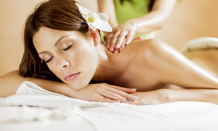 Medi Spa at the Beverly Hills Plaza Hotel - Beverly Hills: Massage with Optional Anti-Aging Facial at Medi Spa at the Beverly Hills Plaza Hotel (Up to 53% Off)