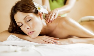 Medi Spa at the Beverly Hills Plaza Hotel: Massage with Optional Anti-Aging Facial at Medi Spa at the Beverly Hills Plaza Hotel (Up to 59% Off)