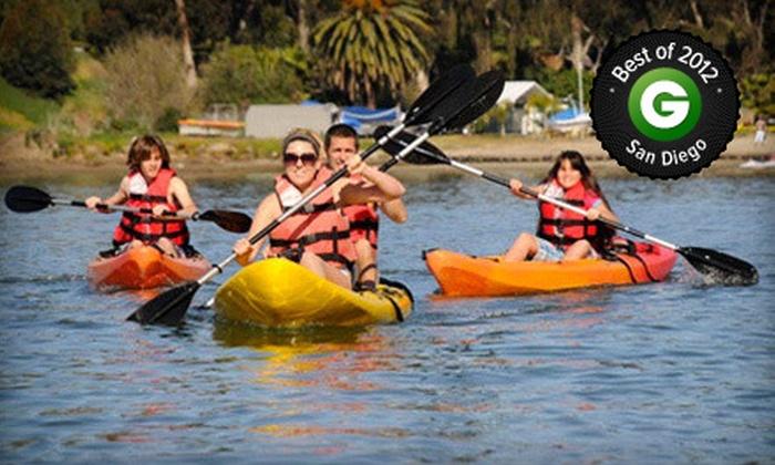 Carlsbad Lagoon - Carlsbad: $23 for a Two-Hour Kayak, Canoe, Standup-Paddleboard, or Aqua-Cycle Rental from Carlsbad Lagoon (Up to $50 Value)
