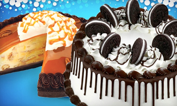 Baskin-Robbins - Multiple Locations: Pie-Size, One-Third- or Half-Sheet Ice-Cream Cake at Baskin-Robbins (Up to 53% Off)