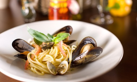 Italian Meal for Two or Four at Cafe Italia (Up to 38% Off)