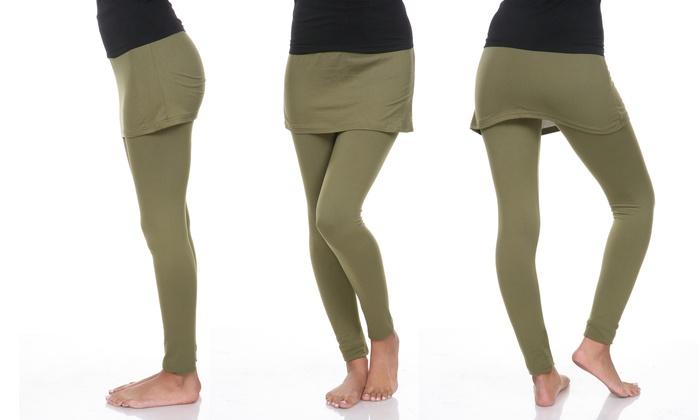 Women's Skirted Leggings (Size L)