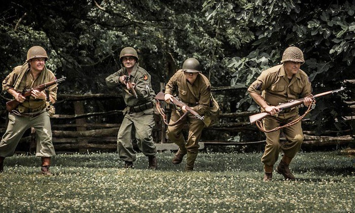 Historic Latta Plantation - Huntersville: Admission for Two, Four, or Six to a World War II Reenactment at Historic Latta Plantation (Up to 44% Off)