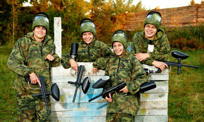 Sunrise Paintball - Grantsburg: Paintball Packages for Two or Four at Sunrise Paintball (Up to 59% Off). Four Options Available.