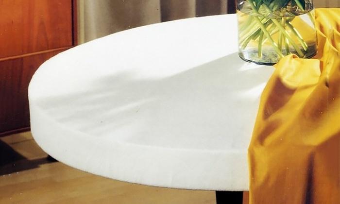 Copritavolo mollettone antimacchia groupon goods - Mollettone per stirare sul tavolo ...