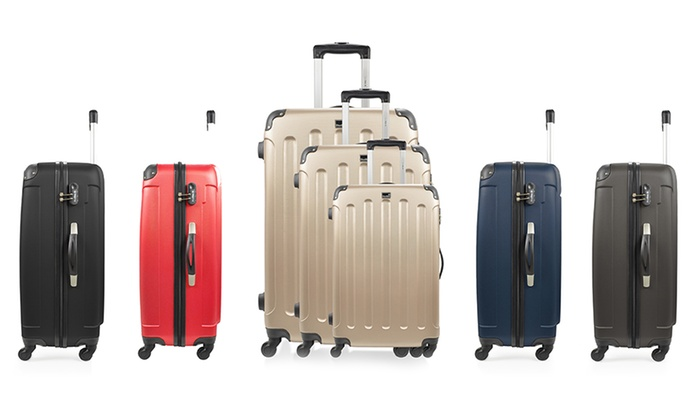 Groupon Goods Global GmbH: Set de 3 maletas BlueStar modelo Madrid por 104,99 € (79% de descuento)