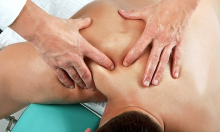 Chiropractic Exam Package with Optional Cervical Pillow at Four Points Family Chiropractic (Up to 88% Off)