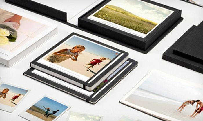 Moleskine + MILK: Custom Photo Books and Albums from Moleskine + MILK (Half Off). Three Options Available.