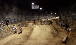 Louisville Mega Cavern: Underground Bike Park Admission for Two or Four at Louisville Mega Cavern