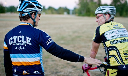 Road 101 and 201 Combo Class or Road 301 Outdoor Biking Class at Cycle University (Up to 42% Off)