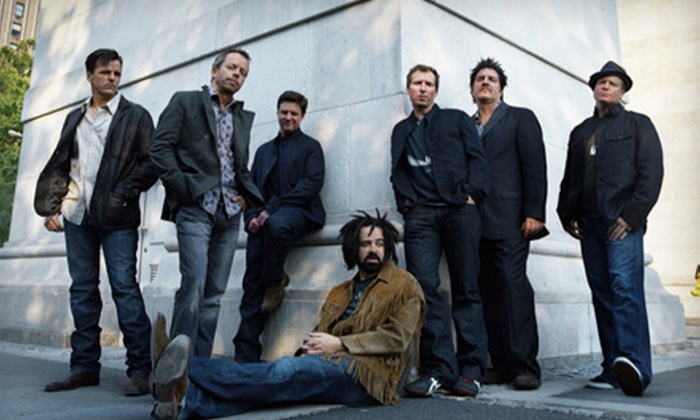 Counting Crows and The Wallflowers - FirstMerit Bank Pavilion at Northerly Island: $21.50 to See Counting Crows and The Wallflowers at Charter One Pavilion on July 7 (Up to $41.53 Value)
