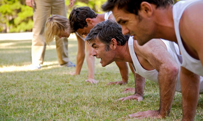 Original SEAL PT Course - Memorial Park: Fitness Boot-Camp Sessions at Original SEAL PT Course (Up to 72% Off). Four Options Available.