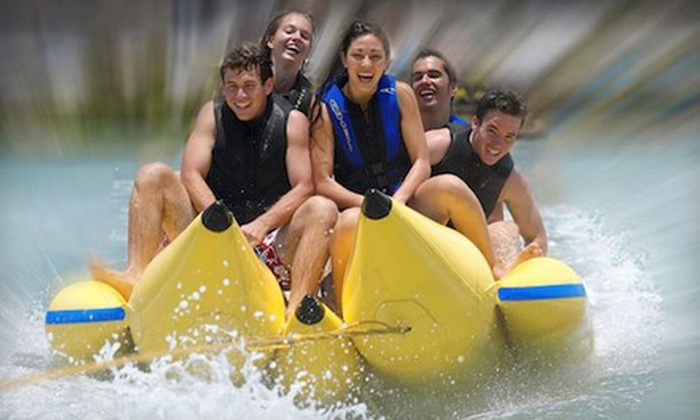 Hawaii Water Sports Center - Hawaii Kai: Banana Boat Ride for Two or Four with Optional Bumper Tube Ride at Hawaii Water Sports Center (Up to 51% Off)