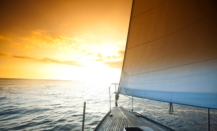 $75 for a Two-Hour Semiprivate Sail for One with One Portrait from Sailing on Biscayne Bay ($195 Value)