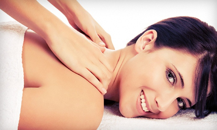 Aches Away Therapeutic Massage and Skin Wellness - Clive: Spa Package at Aches Away Therapeutic Massage and Skin Wellness (Up to 55% Off). Three Options Available.