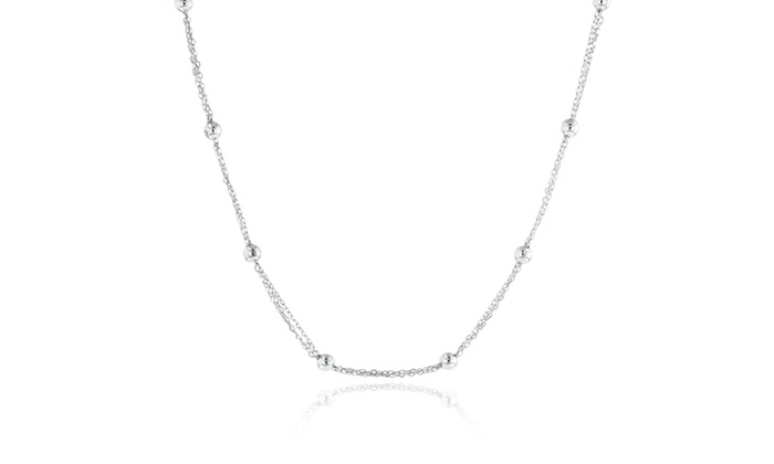 Sterling Silver Necklaces: Sterling Silver Necklaces. Multiple Styles Available. Free Shipping.