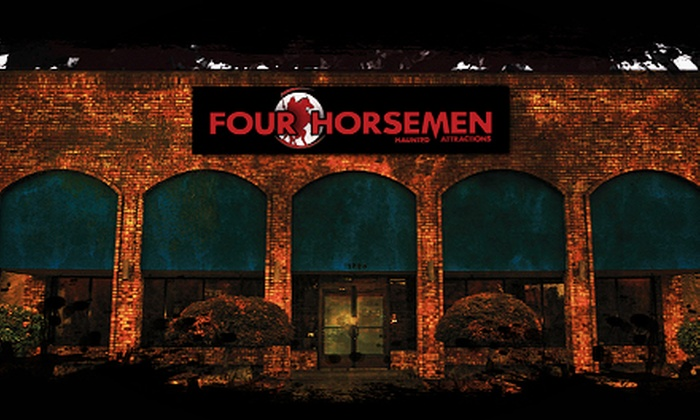 Four Horsemen Haunted Attractions - Portland: Admission for Two or Four with Optional Souvenir Photos at Four Horsemen Haunted Attractions (Up to 51% Off)