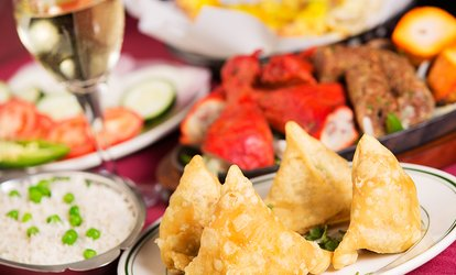 image for Two-Course Meal for Two or Four at India Gate (Up to 45% Off)