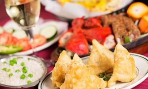 Adisil Indian Fast Food: Indian Food at Adisil Indian Fast Food (40% Off). Two Options Available.