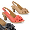 Softspots Nicki Women's Floral Slingback Heeled Sandal
