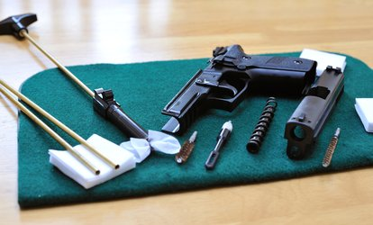 image for Cleaning or Cerakote Refinishing for Firearms at Tactical Guardian (Up to 60% Off). Six Options Available.