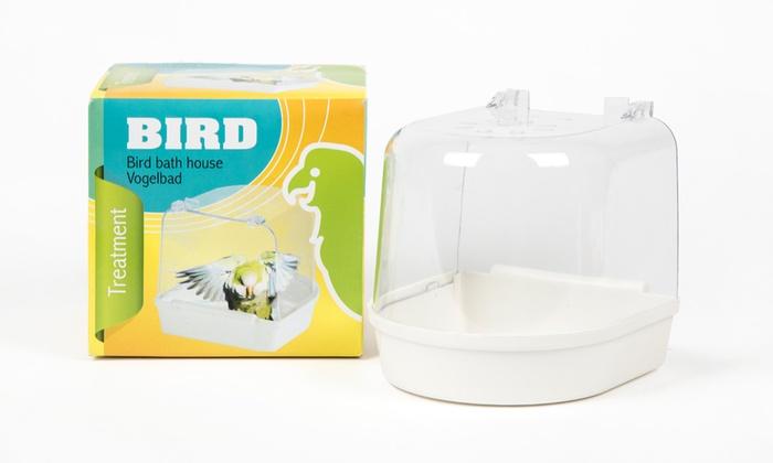 Groupon Goods Global GmbH: Plastic Hooded Bird Bath