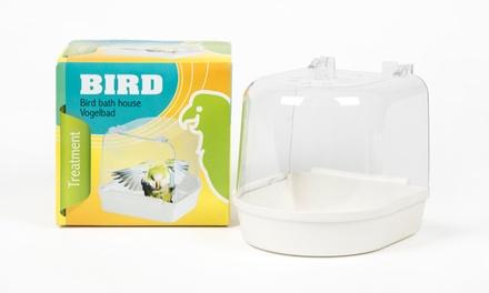 Plastic Hooded Bird Bathfor £3.98