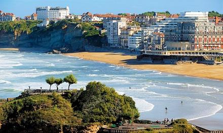 Biarritz: estancia para 2 personas con opción a desayuno y acceso al centro Thalasso en Hôtel Marbella