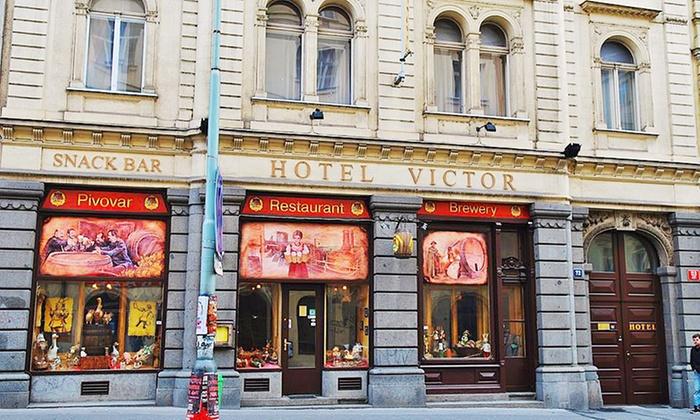 Hotel Victor - Hotel Victor: Praga: 2-4 dni dla 2 osób ze śniadaniami i więcej w Hotelu Victor