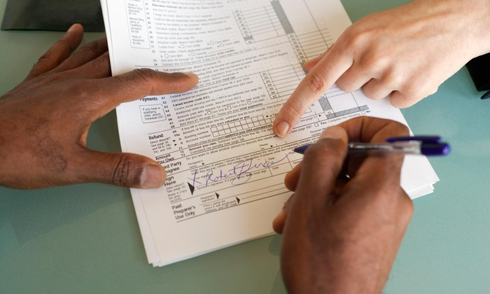K&K Multiservice - East Orange: Tax Consulting Services at K&K Multiservice (40% Off)