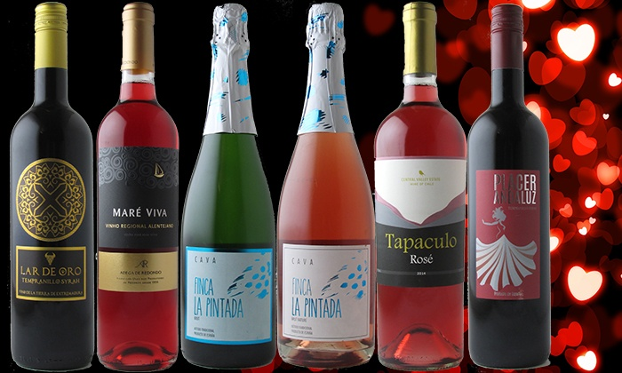 Splash Wines, Inc.: $39 for Six Bottles of Reds, Rosés, and Bubbles from Splash Wines ($103.70 Value)