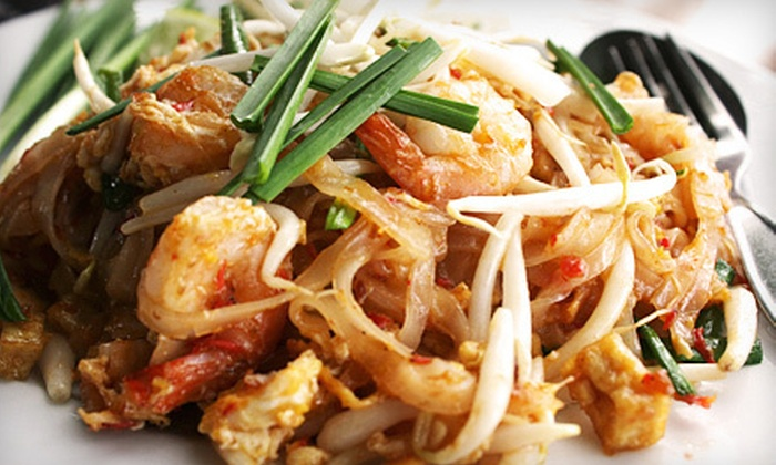 Sri Thai - Orchard: Thai Dinner for Two or $6 for $12 Worth of Thai Cuisine for Lunch at Sri Thai