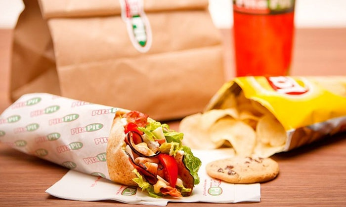 Pita Pit - Pita Pit: Pitas and Drinks at Pita Pit (Up to 50% Off). Two Options Available.