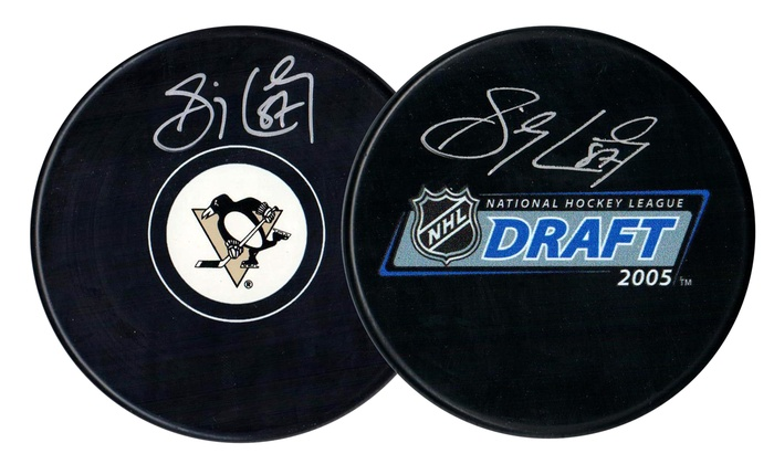 Sidney Crosby Signed Hockey Puck  8b899b2af99